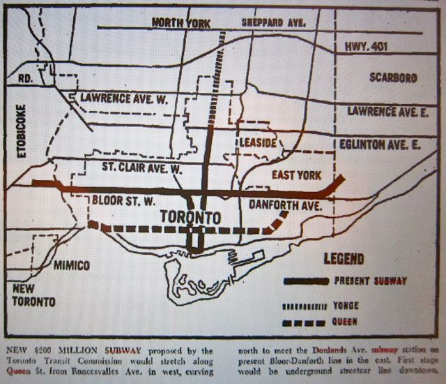 Map is from page A4 for the Toronto Daily Star (two-star edition) on June 12, 1968