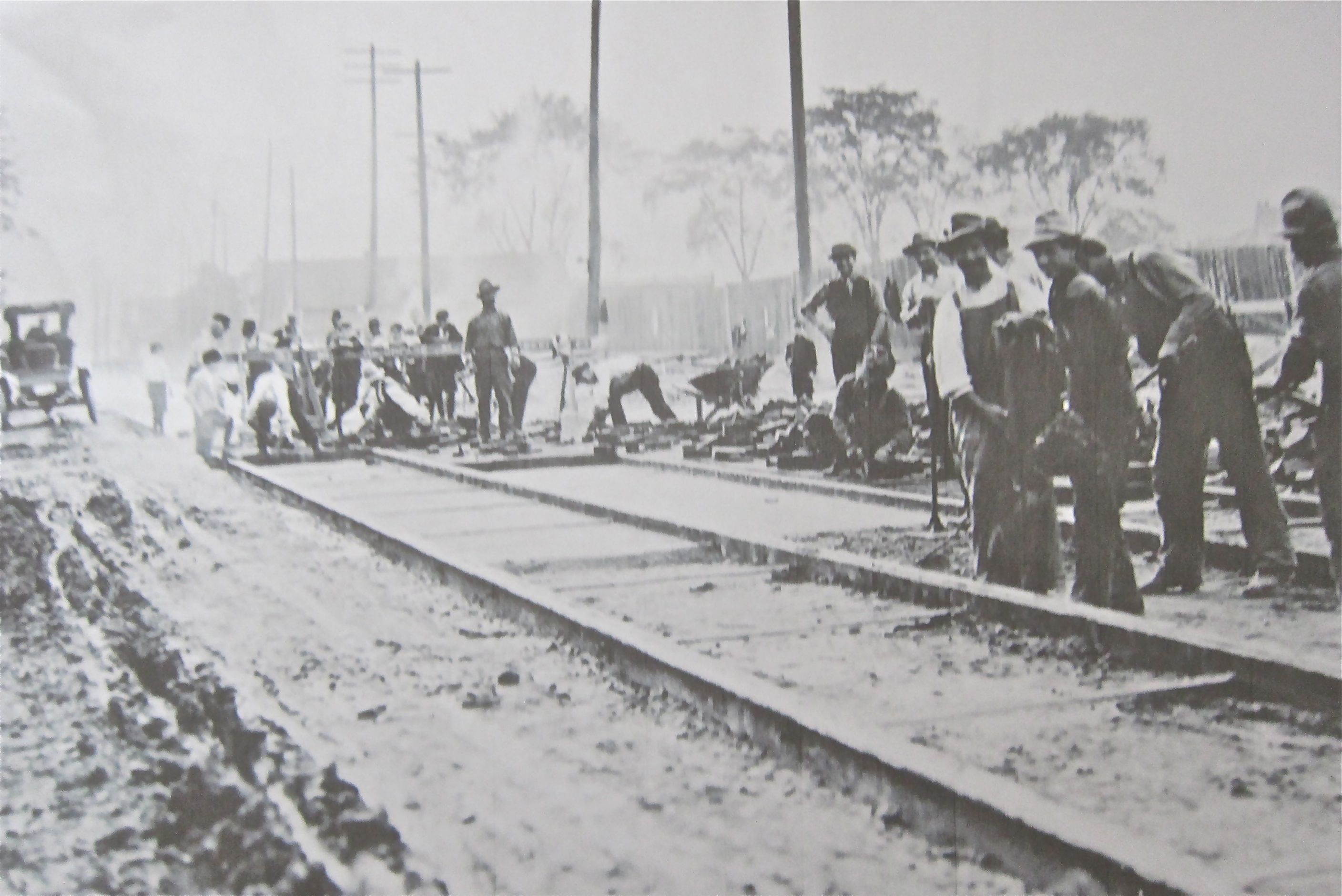 Thirty years after the last spike was driven on the transcontinental CPR line, work proceeded nicely on bringing rails to what had been Upper Midway until the 1909 annexation.